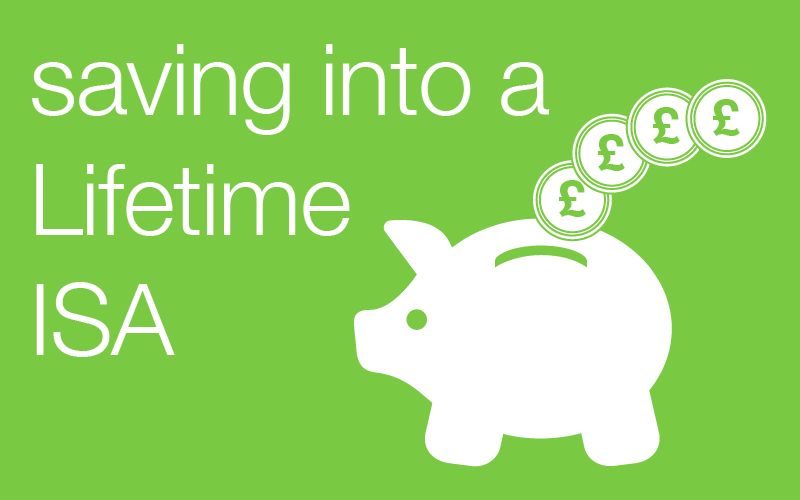 saving into a Lifetime ISA